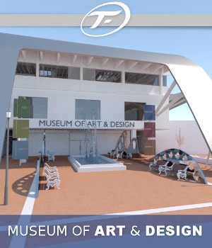 Museum of Art and Design 3D Models TruForm