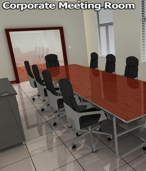 Corporate Meeting Room 3D Models Imaginary_House