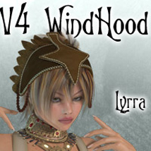 v4 Wind Hood 3D Figure Essentials Lyrra