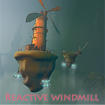 Reactive windmill 3D Models 1971s