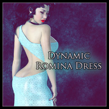 Dynamic Romina Dress 3D Figure Essentials SynfulMindz