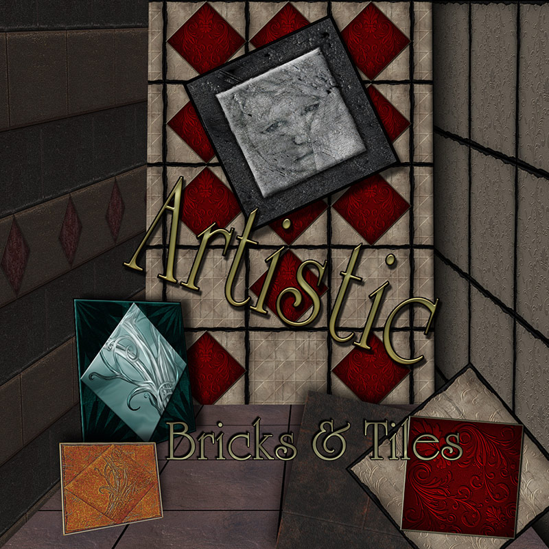 Artistic Bricks and Tiles