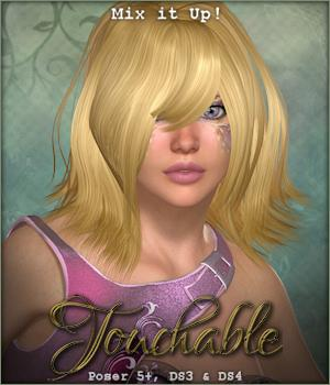 Touchable Cassi 3D Figure Assets -Wolfie-