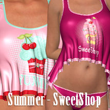 Sweet Shop for Summer 3D Figure Assets ANG3L_R3D