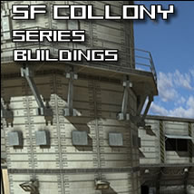 SF Colony 3D Models dexsoft-games