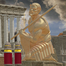 MS14 Ben-Hur Chariot Arena 3D Models London224