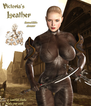 Victoria's Leather 3D Figure Essentials Darkworld