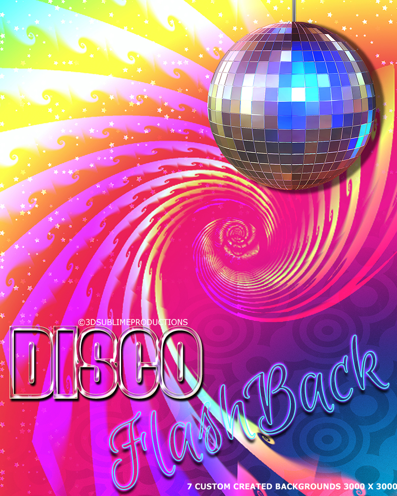 Disco Flash Back Backgrounds