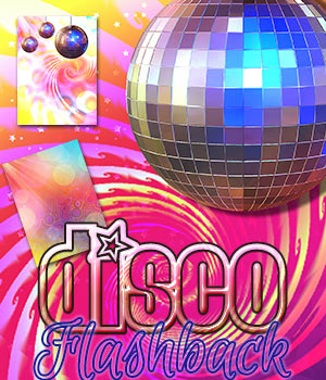 Disco Flash Back Backgrounds 2D Graphics 3DSublimeProductions