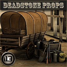 i13 Deadstone Props 3D Models Lights and Cameras ironman13