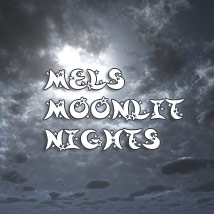 Mels Moonlit Nights 2D Graphics 3D Lighting : Cameras ArtByMel