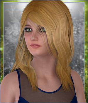 TroyAnne Hair by -Wolfie-