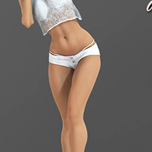 i13 Delicate poses for Genesis 2 Female image 5