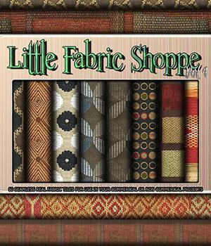 Little Fabric Shoppe Vol 1 2D Graphics Merchant Resources 3DSublimeProductions