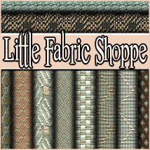 Little Fabric Shoppe Vol 3 2D Merchant Resources 3DSublimeProductions