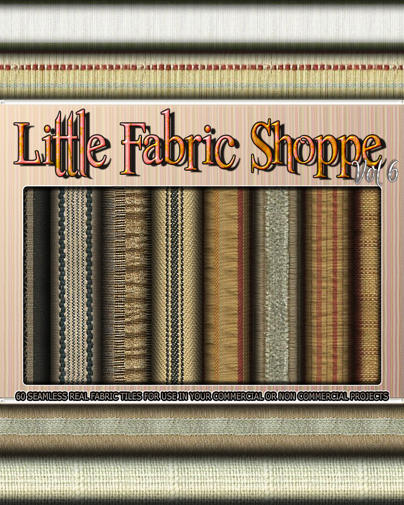 Little Fabric Shoppe Vol 6