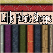 Little Fabric Shoppe Vol 7 2D Merchant Resources 3DSublimeProductions