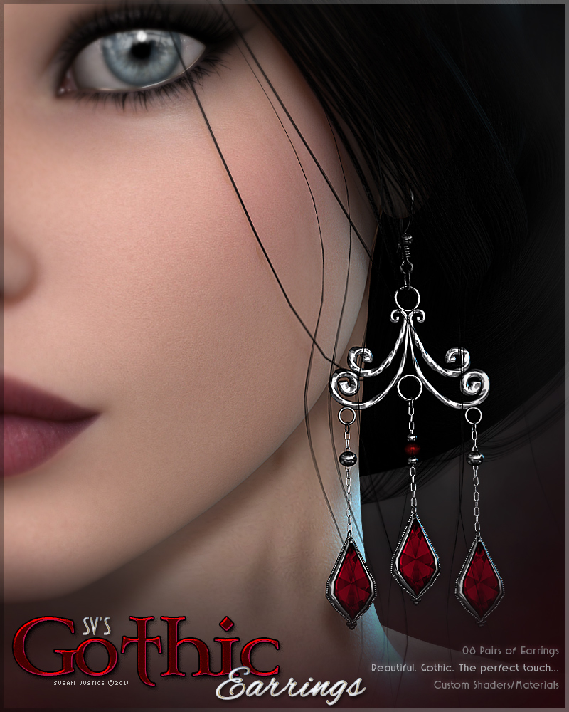 SV's Gothic Earrings