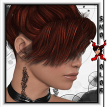 ShoXoloR for Elements Hair 3D Figure Essentials ShoxDesign