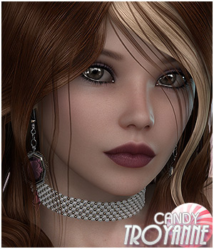 Candy TroyAnne 3D Figure Essentials Sveva