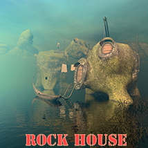 Rock house 3D Models 1971s