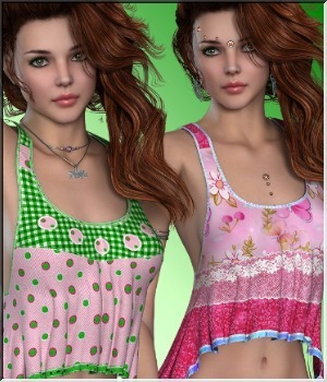 AM: Breeze 2- 16 Styles for Summeroutfit 3D Figure Essentials Angelmoon