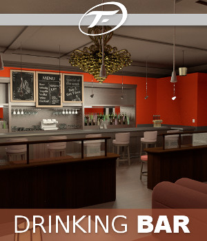 Drinking Bar 3D Models TruForm
