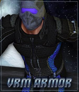 VRM Armor (M4) (for Poser) 3D Figure Assets Legacy Discounted Content VanishingPoint
