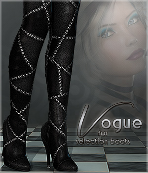 Vogue for Selection Boots 3D Figure Essentials Sveva