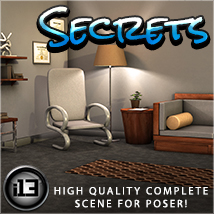 i13 Secrets 3D Models Software ironman13