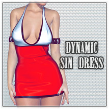 Dynamic Sin Dress 3D Figure Essentials SynfulMindz
