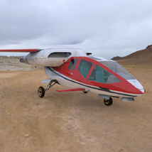HeliJet (for Poser) 3D Models VanishingPoint