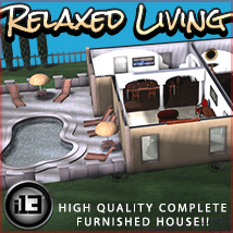 i13 Relaxed Living 3D Models Software ironman13