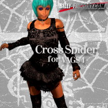 V4 Cross Spider 3D Figure Assets billy-t