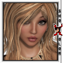 ShoXoloR for Capucine Hair 3D Figure Essentials ShoxDesign