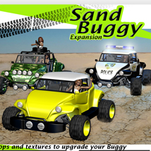 Sand Buggy Expansion 3D Models apcgraficos