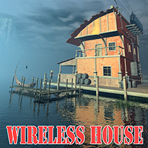 Wireless house 3D Models 1971s