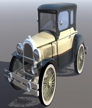 1930 Ford Prototype 3D Models sevein