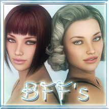 BFF's For V4 & G2F 3D Figure Essentials lunchlady