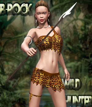 Wild Hunter 3D Figure Assets B-Rock