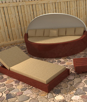 Outdoor Furniture 3D Models RPublishing