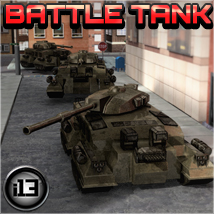 i13 Battle Tank 3D Models ironman13