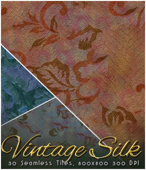 MR-Vintage Silk Fabric 2D Merchant Resources Sveva