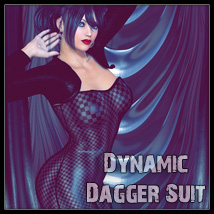 Dynamic Dagger Suit 3D Figure Essentials SynfulMindz