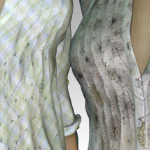 MORE Textures & Styles for Romantic Long Shirt image 1