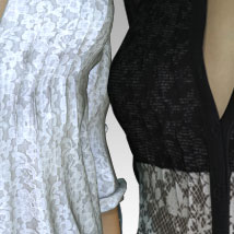 MORE Textures & Styles for Romantic Long Shirt image 3