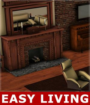 Easy Living 3D Models posetime