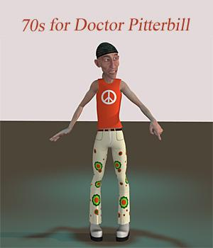 70s for Doctor Pitterbill 3D Figure Essentials anny