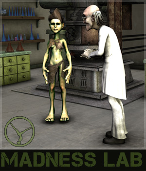 Madness Lab 3D Models posetime