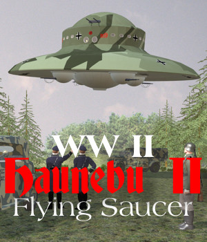 Haunebu-II WW2 Flying Saucer 3D Models Michael_C